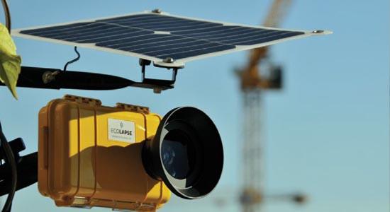 Caméra solaire pour réaliser des timelapse